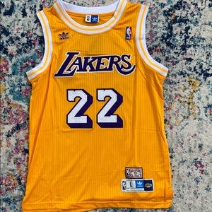 Los Angeles Lakers Elgin Baylor Gold Jersey